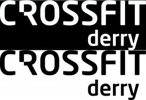 Crossfitderry -logo-black and white